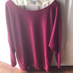 Love sleeve knitted sweater top